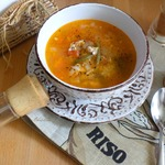 Куриный суп со стручковой фасолью
