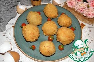 Рецепт: Крокеты из вареных яиц