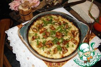 Рецепт: Козий сыр с медом и орехами