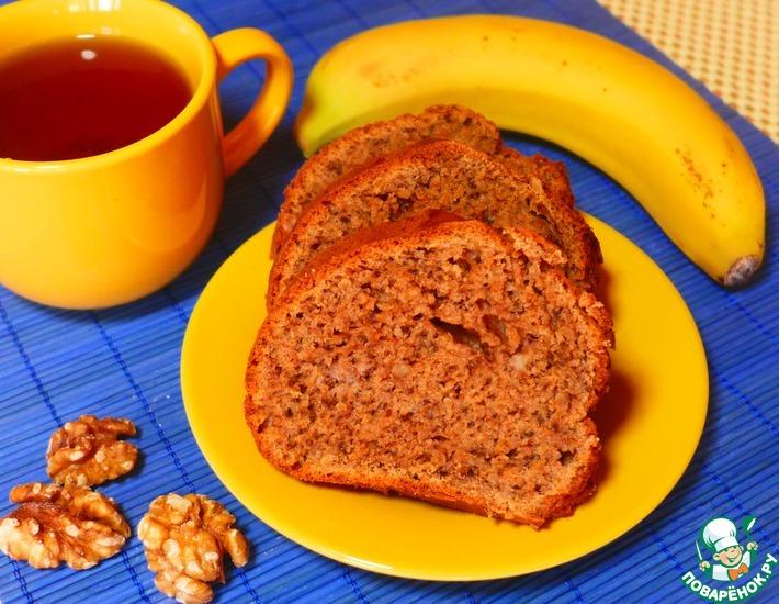 Рецепт: Бананово-ореховый пирог