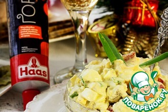 Рецепт: Салат яичный Коко