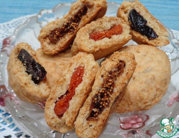 Рецепт: Песочное печенье Ассорти