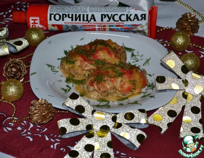 Медальоны из куриной голени «Праздничный ужин»