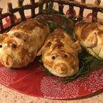 Новогоднее мясо «Свинки на отдыхе»