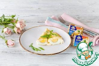 Рецепт: Фаршированные яйца, запеченные по-провански