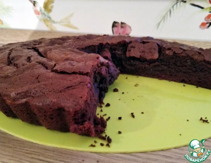 Рецепт: Брауни с тёмным шоколадом