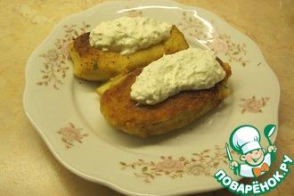 Рецепт: Картофельные зразы с рыбной начинкой