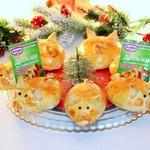 Новогодние пирожки Дружная семейка