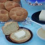 Сдобные булочки на греческом йогурте