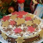 Новогодний торт Звезды