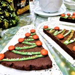 Брауни шоколадно-кофейный Ёлочки