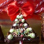 Пирожное Рождественская ёлочка