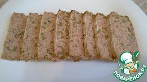 Рецепт: Рыбный батон