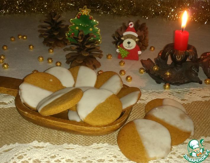 Рецепт: Мягкое пряничное печенье