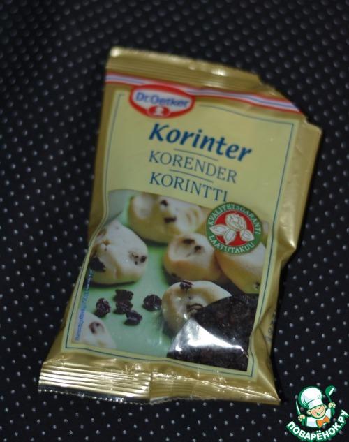 Кокосовое печенье с ромом и изюмом