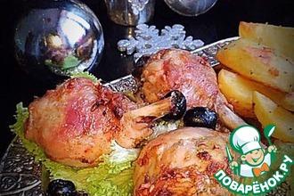 Рецепт: Голени куриные «Семейные»