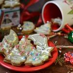Новогоднее маковое печенье