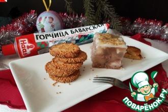 Рецепт: Печенье Горчичное