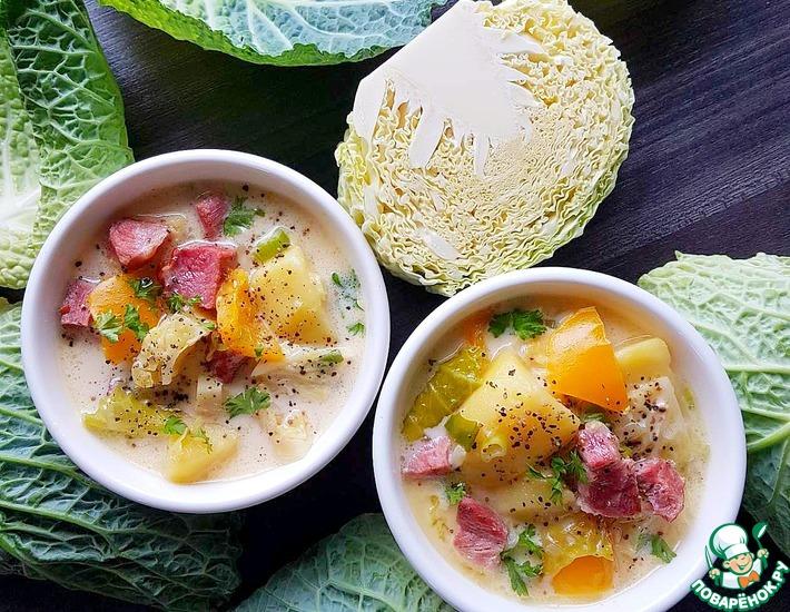 Рецепт: Айнтопф из савойской капусты