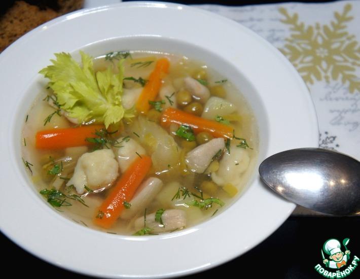Рецепт: Суп для внучек
