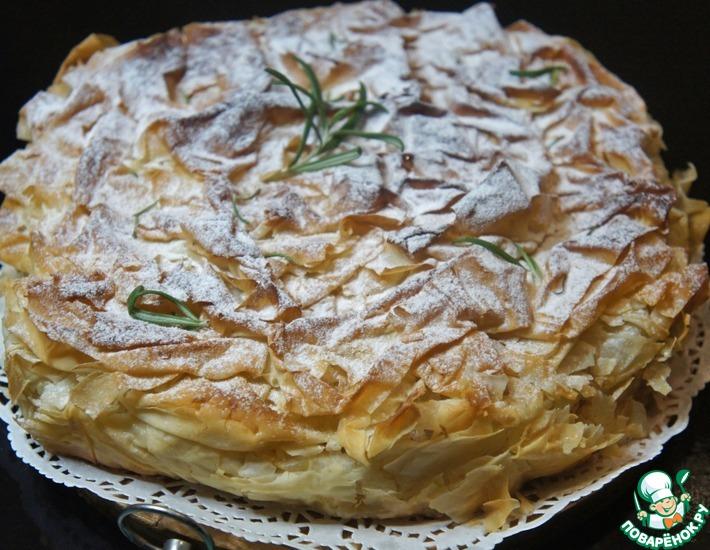 Рецепт: Пирог Свадебная фата