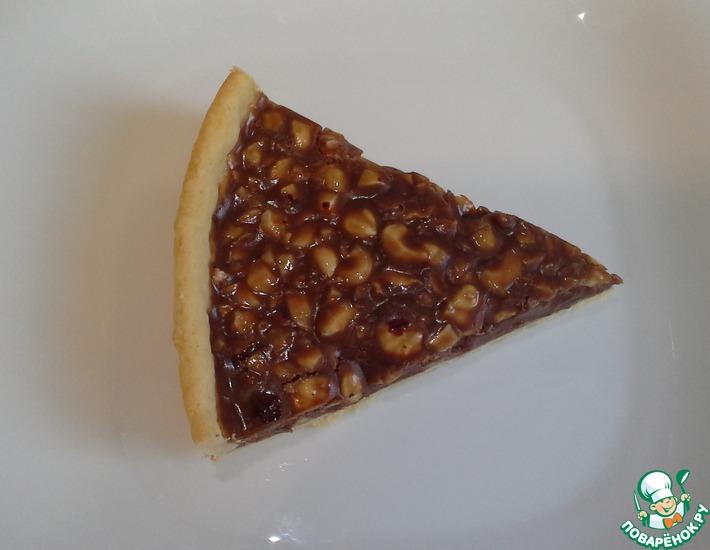 Рецепт: Шоколадный пирог с орехами