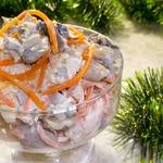 Праздничный салат Корейчанка
