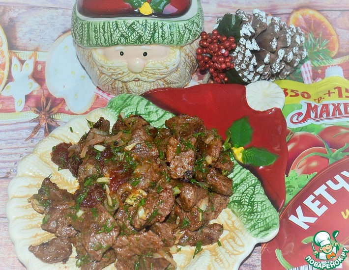 Рецепт: Говядина Экспрес-чили