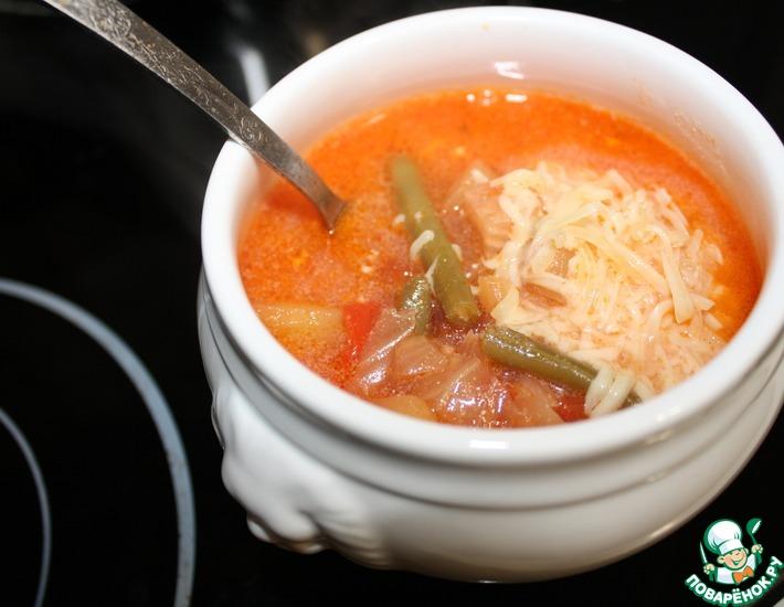 Великотырновский овощной суп