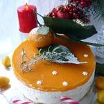 Мандариновый чизкейк Новогодний аромат