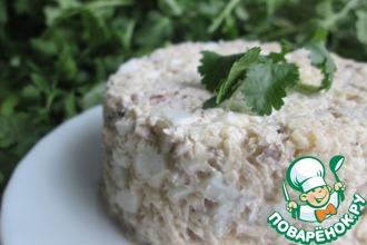 Рецепт: Салат из брюквы с орехами