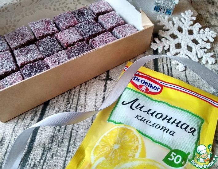 Рецепт: Мармелад вишневый на пектине