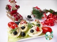 Быстрая закуска из яиц и маслин ингредиенты