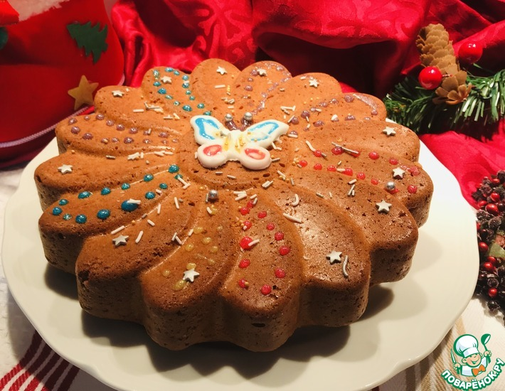 Рецепт: Простой кекс-пирог