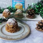 Пирожные без выпечки Новогодние шишки