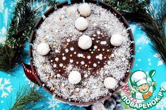 Рецепт: Торт Снежки ореховые