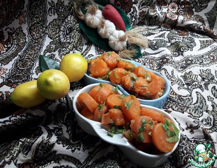 Рецепт: Салат из моркови Восточный