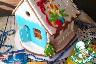 Рецепт: Пряничный домик Новогоднее чудо