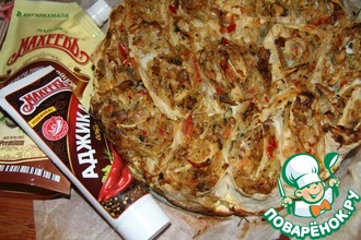 Рецепт: Капустный пирог из лаваша