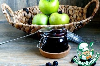 Рецепт: Джем из печеных яблок и смородины