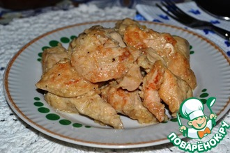 Рецепт: Куриная грудка «Нежнейшая»