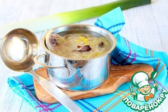 Рецепт: Шотландский суп Кок-а-лики