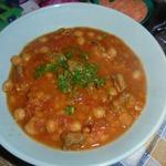 Густой суп с нутом Харира