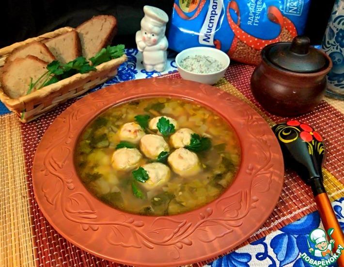 гречневый суп с яйцом рецепт с курицей