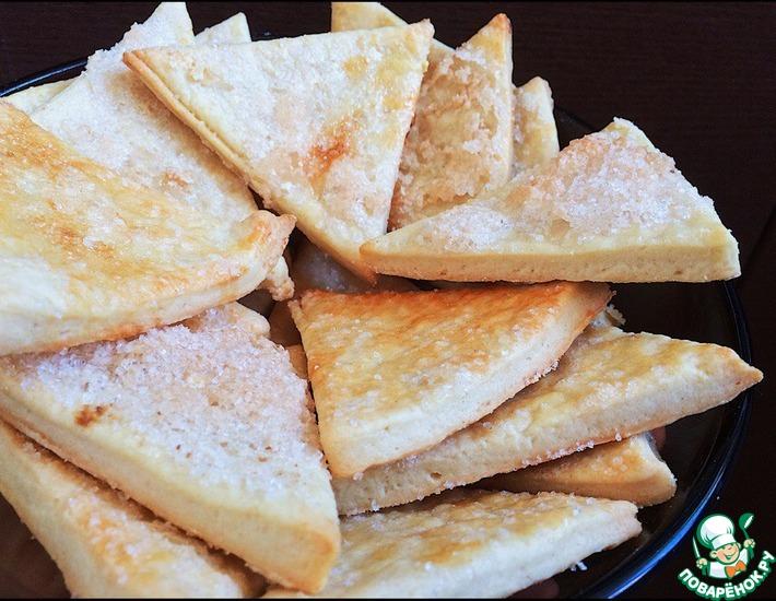 Рецепт: Хрустящее печенье