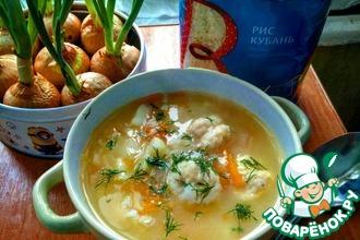 Рецепт: Венгерский суп с сырными клецками