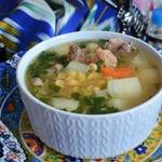 Суп гороховый по-восточному
