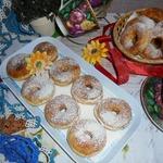 Апельсиновые пончики на мягком твороге