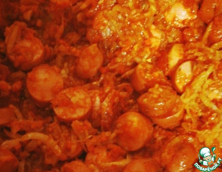 Рецепт: Солянка из пекинской капусты