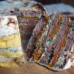 Торт лавашный слоеный